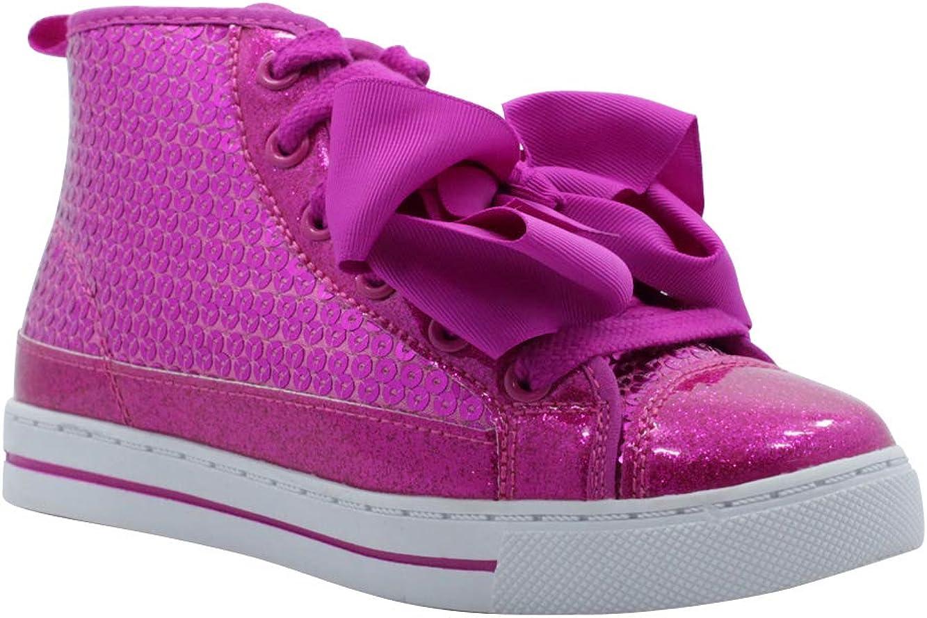 Girls High Top JoJo Reversible Sequin Max 83% Ranking TOP16 OFF Glitter Shoes Sneaker