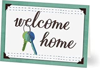 Hallmark New Home Cards for Realtors (Welcome Home Keys) (Pack of 25 Greeting Cards)