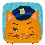 Kinder Spielzeug Auto - Polizei Patrouillieren ein Rennspiel für kleine Helden