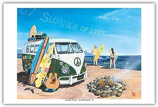 Photo Poster Print Art * All Sizes VOLKSWAGEN VAN CLASSIC CAR POSTER AA940
