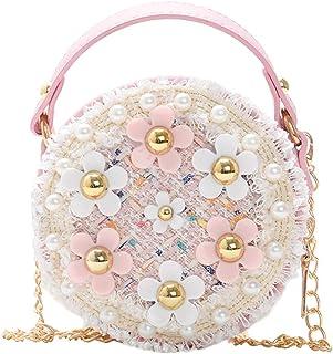 Fanspack Shoulder Bag Creative Cute Flower Crossbody Mini Top Handle Bag Purse for Girls