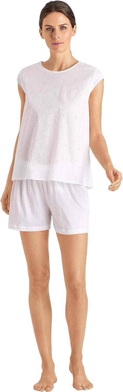 HANRO Women's Selling and selling Kiah Sleeve Ranking TOP16 Short Pajama Set