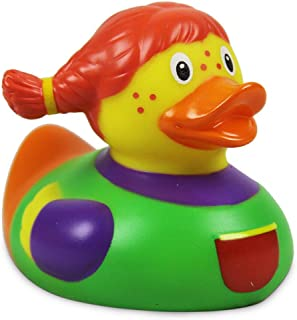 Lilalu 8 x 8 cm/50 g Collector and Baby Lotti Rubber Duck Bath Toy