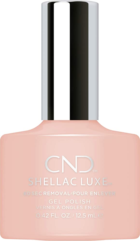 神話看板肌寒いCND Shellac Luxe - Unmasked - 12.5 ml / 0.42 oz