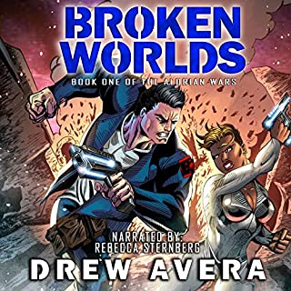 Broken Worlds audiobook cover art