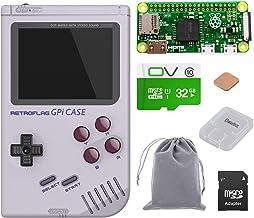 owootecc Retroflag GPi Case para Raspberry Pi Zero y Zero W con Safe Shutdown (Case with 32G Zero W)