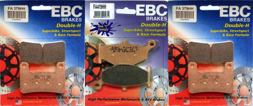 EBC Double-H Max 84% OFF Series Combo Kit - Front Ranking TOP3 FA379HH Brake Pa