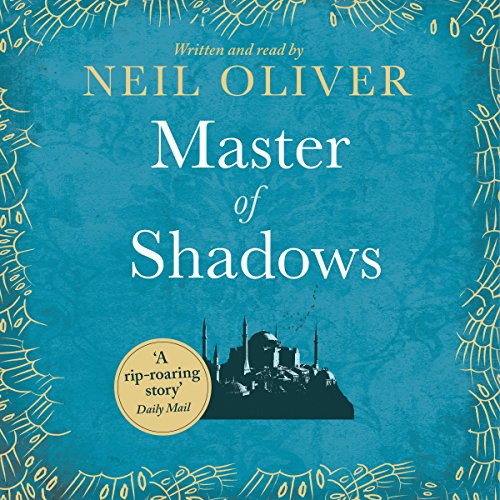 Master of Shadows audiobook cover art