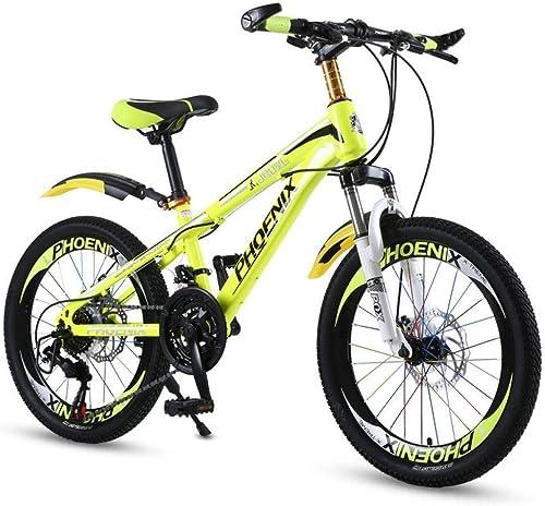 XHLJ Kinderfürr r, Outdoor-Sportarten, M er- Und Frauenfürr r, 6-10 Jahre, Kinderwagen Mountainbike (Farbe   J, Größe   18 INCH)