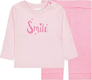 Staccato Pyjama Smile Organic Cotton - Rose Melange Stripes