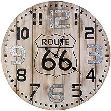 Wood Analog Clock - Wall Clocks