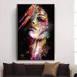 ZHUAIBA Dipinti Astratti Moderni Pittura a olio su tela arte immagine della parete della decorazione della decorazione della casa dipinto a mano immagini dorate astratte sul muro 60x120cm