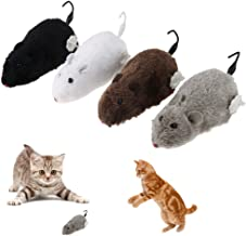 Cat Toy Funny Clockwork Spring Power Plush Mouse Toy for Cat Dog Playing Toy Mechanical Motion Rat Pet Accessories