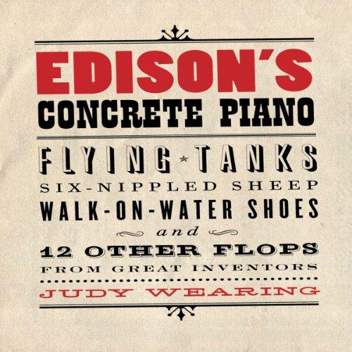 Edison's Concrete Piano audiobook cover art