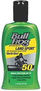 Bull Frog Land Sport Quik Gel Sunscreen , SPF 50 5 Oz