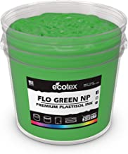 Ecotex Fluorescent Green NP-Plastisol Ink for Screen Printing - Non Phthalate Formula - All Sizes (Pint)