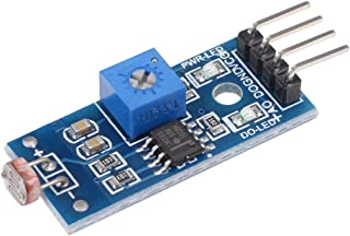 uxcell Light Intensity Detection Sensor Photoresistor Module with Digital and Analog Output for Arduino UNO