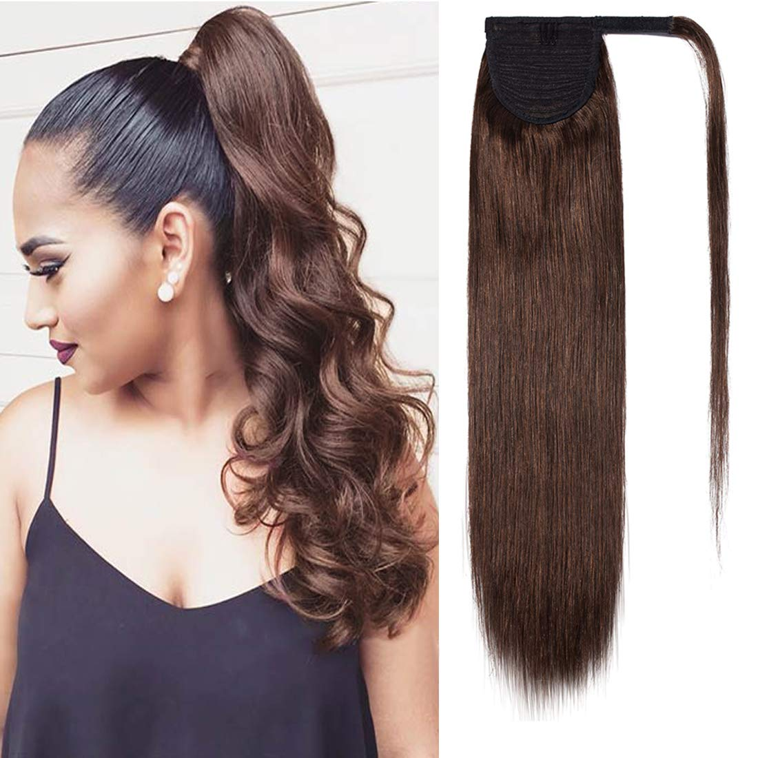 S-noilite Ponytail Extensions Human Hair Max 51% OFF Clip Directly managed store in