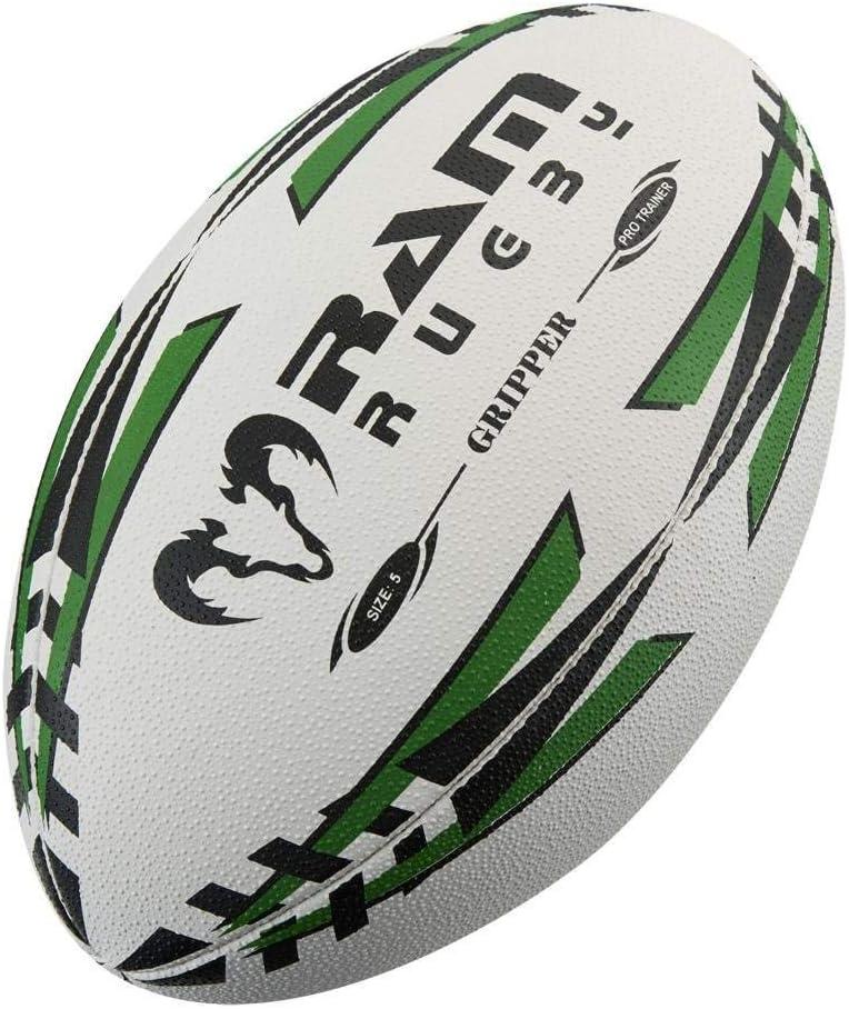 Ram Rugby Gripper Pro Training [Alternative dealer] Ball Max 80% OFF Fluo Red - Green Blue Yellow