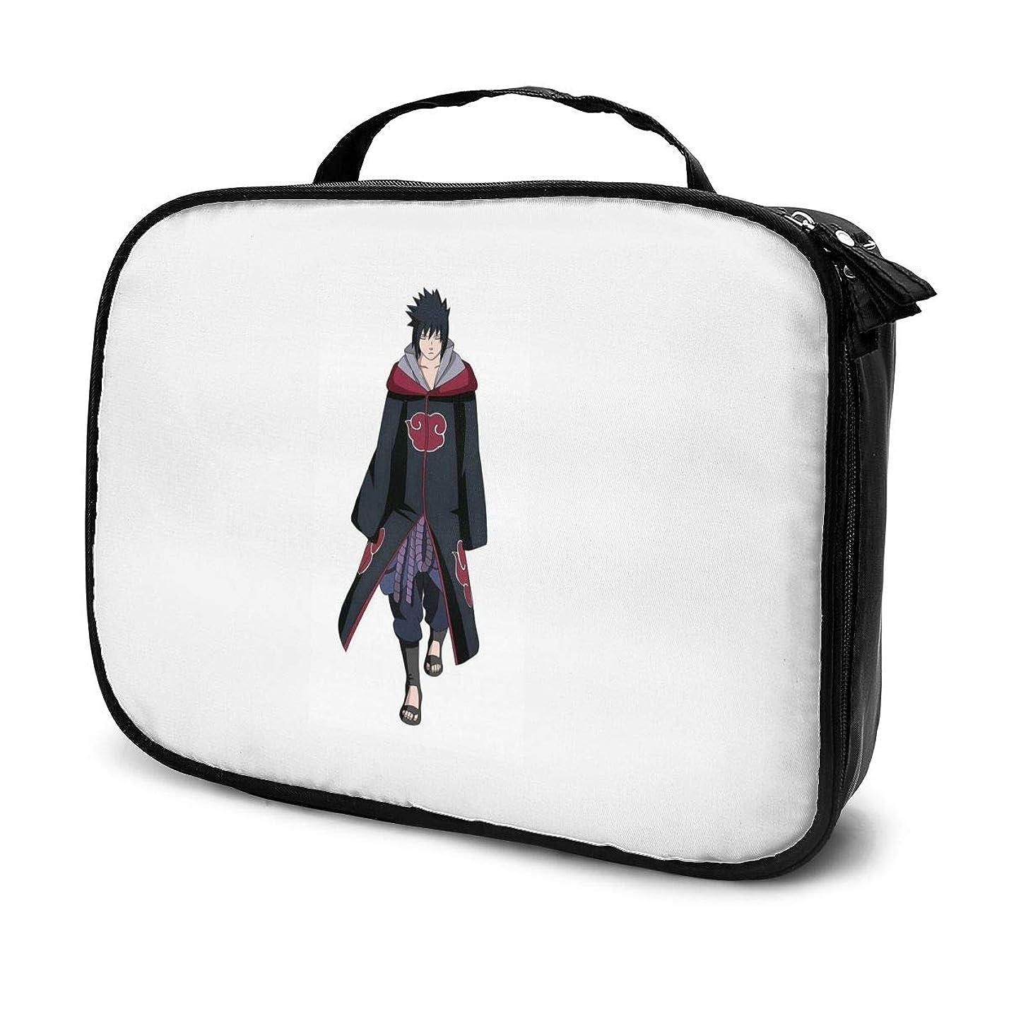 フライカイト代わりの柔らかいDaituうちはサスケ 化粧品袋の女性旅行バッグ収納大容量防水アクセサリー旅行