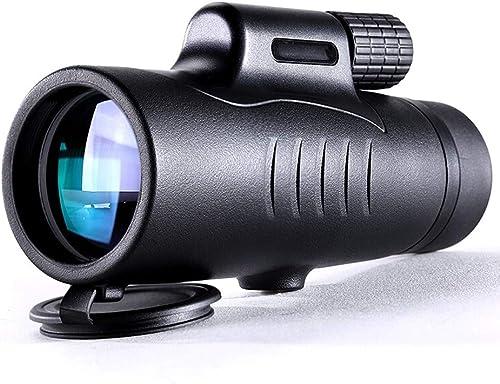 XiaoYu Télescope 8x42 Haute Définition à Fort GrossisseHommest Monocylindre Grande Ouverture Faible Niveau De Vision Nocturne Télescope Non Infrarouge