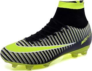 Zapatos de Fútbol Hombre Spike Aire Libre Profesionales Atletismo Training Botas de Fútbol Ligero Tacos Futbol Zapatos de Deporte