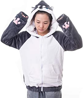 Cartoon Animal Hoodie Original Design Kawaii Cat Dog Cute Winter Hoodies