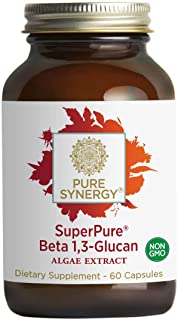 Sponsored Ad - Pure Synergy SuperPure Beta 1,3 Glucan 500 mg (60 Capsules) Immune Health Booster - 100% Made and Sourced i...