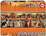 Educa - En el Embarcadero Panorama Puzzle, 1000 Piezas, multicolor (18001)
