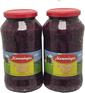 Red Cabbage in Jar 650gm , (Pack of 2 Bottles X 650gm Each)