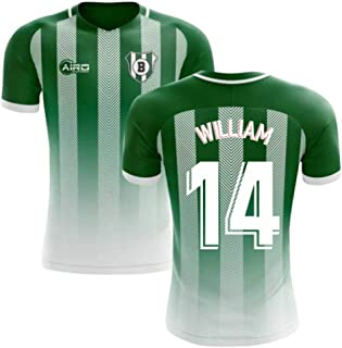 Airosportswear 2019-2020 Real Betis Home Concept Football Soccer T-Shirt Jersey (William Carvalho 14)