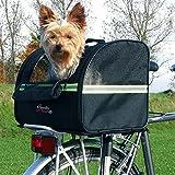 WANGADO Cesta da bici per animali max di 8 kg, in robusto poliestere, utilizzabile come trasportino,...