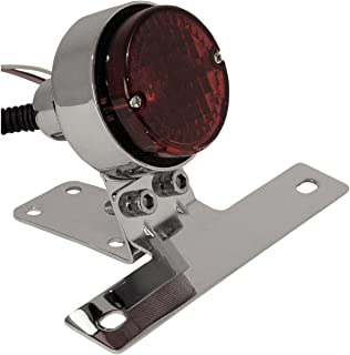 Emgo Classic 2 1/4in. Taillight w/License Plate Mount 62-21514