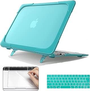 CISOO 13インチ ハードシェルケース MacBook Pro touch bar 13用 モデルA1706/A1989対応 ヘビーデューティハードケース 折り畳み式 耐衝撃 保護カバー 日本語JIS配列キーボードカバー トラックパッドフィルム付き 3点セット