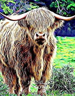 2020 Planner - Daily and Monthly Planners: The Perfect Gift - 2020 Planner for Highland Cow Lovers. Men, Women and Kids Love These Diaries