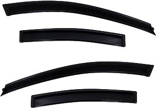 Auto Ventshade 94611 Original Ventvisor Side Window Deflector Dark Smoke, 4-Piece Set for 2011-2015 Chevrolet Cruze