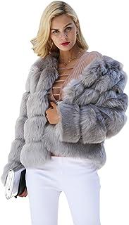 Gray long wool coat Gray boho cardigan Gray faux fur coat Gray overcoat Full length fur coat Real fur coat women Faux fur winter coat