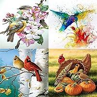 5D DIY Full Drill Diamond Painting Bird Embroidery Mosaic Craft Kits DIY Diamond Embroidery Decor Handmade Gift