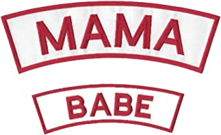 Mama and Babe Rocker Patch Set