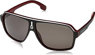 كاريرا نظارة شمسية للجنسين - لون العدسة رمادي، 1001/S BLX BKRTCRYRD