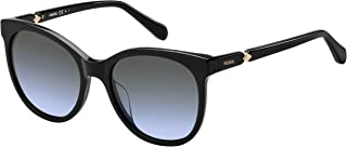 Fossil Round Sunglasses For Women - Black, Fos 2074/S
