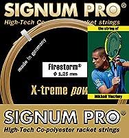 シグナムプロ(SIGNUM PRO) テニスガット ファイヤーストーム120 単張りガット firestorm120 0 0