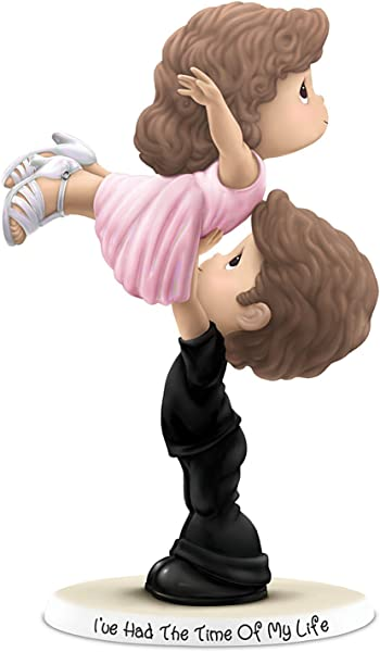 The Hamilton Collection Precious Moments Dirty Dancing Bisque Porcelain Figurine