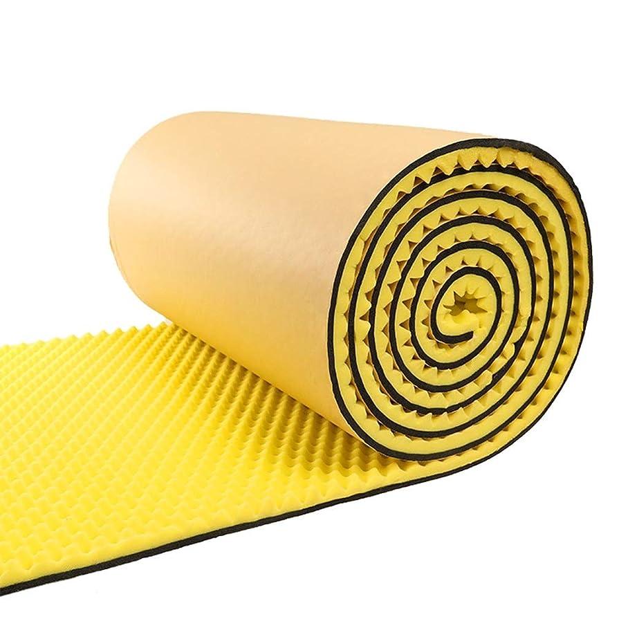 チキンこれら腹5平方メートル音響パネル防音壁、家庭用レコーディングスタジオ屋内ダンススタジオレコーディングスタジオ吸音綿 (Color : Yellow)