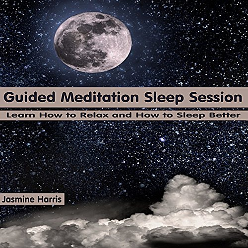 Guided Meditation Sleep Session audiobook cover art