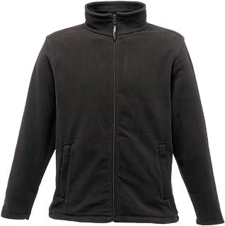 Regatta Micro Full Zip Men Fleece Shockcord Hem Zipped Pockets Gents Winterwear