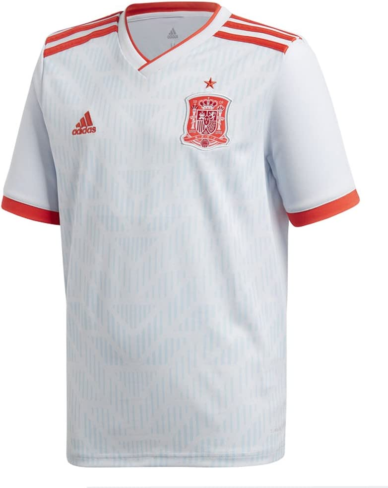 adidas Spain Away Youth Soccer Russia 2018 Ranking TOP17 Cup discount World Jersey