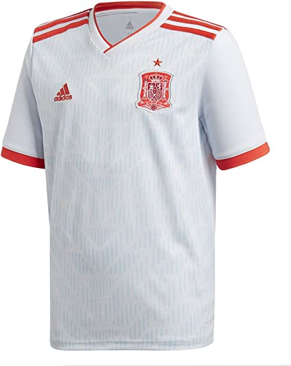 adidas Spain Away Youth Soccer Jersey World Cup Russia 2018