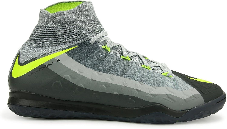 Nike herrar Hypervenomx Proximo Ii Df Df Df Inoor svart  Volt  Dark grå  Wolf grå Sockerskor  butik försäljning försäljningsstället
