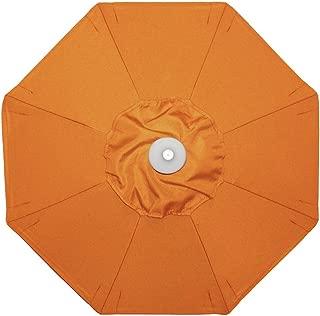 Galtech Classic 9-ft. Wood Sunbrella Market Umbrella